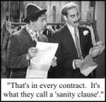 There ain't no Sanity Clause!